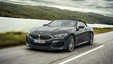 The First-Ever 2019 BMW 8 Series Convertible.
