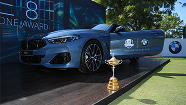 BMW becomes Worldwide Partner of The Ryder Cup.