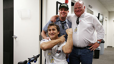 Zanardi&#39;s Road to Daytona:&nbsp;&ldquo;Welcome back, Alex&rdquo;: US companions talk about the phenomenon that is Alessandro Zanardi.<br />