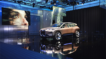 BMW Group at the 2019 Consumer Electronics Show (CES) in Las Vegas.