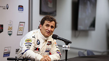 "Alessandro Zanardi: ""It has been simply fantastic all the way""."