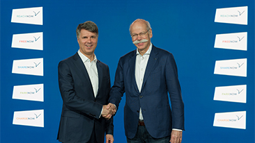BMW Group and Daimler AG invest more than €1 billion in joint mobility services provider