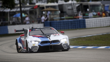 BMW Team RLL Comes Fourth and Seventh in the GTLM Class at the 12 Hours of Sebring.