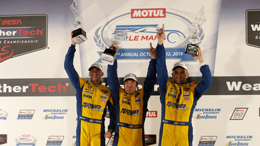 Turner Motorsport Wins GTD Class with BMW M6 GT3 at IMSA Finale – Podium for BMW Team RLL.