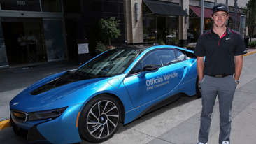 2012 BMW Championship Winner Rory McIlroy Takes a Different Kind of Drive in the All-New BMW i8 During the 2014 BMW Championship