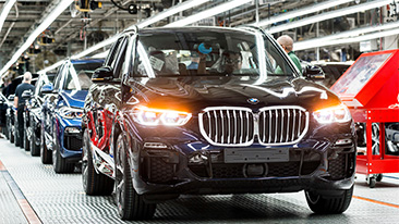 Record Production Year for BMW Manufacturing.
