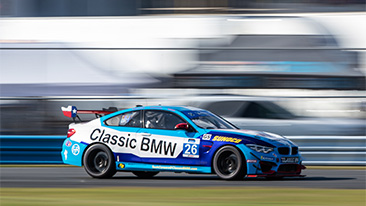 Large BMW M4 GT4 Entry Highlights 2020 BMW Endurance Challenge At Daytona; BMW Customer Racing Teams Bring Five BMW M4 GT4 Racing Cars to Season Opener.