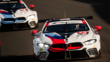 BMW Team RLL Prepared for Physics of Lime Rock Park.