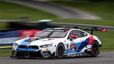 BMW Team RLL Off the Pace at VIRginia International Raceway, Finishing Seventh and Eighth.