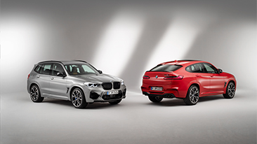 The first-ever 2020 BMW X3 M and BMW X4 M