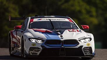 BMW Team RLL Qualifies Sixth and Seventh For Mobil 1 SportsCar Grand Prix; Krohn P6, Sims P7.
