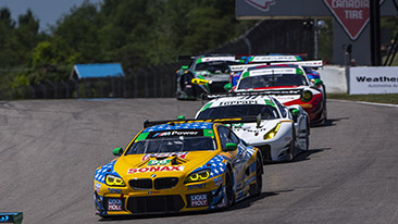 BMW Team RLL Finishes Seventh and Eighth at Mobil 1 SportsCar Grand Prix.