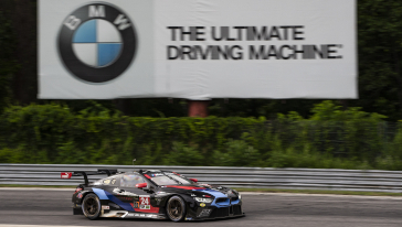 BMW Team RLL Finishes Seventh and Eighth at Northeast Grand Prix.
