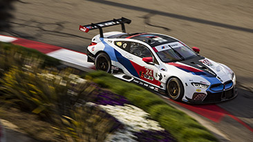 BMW Team RLL Qualifies Seventh and Eighth for the BUBBA burger Sports Car Grand Prix at Long Beach; DePhillippi P7, Krohn P8.