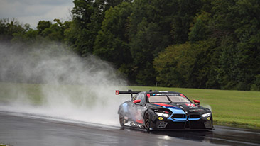 Rain Does Not Dampen BMW Team RLL Qualifying Effort at VIR. Third Starting Position for Edwards and Fifth for De Phillippi in Wet Conditions for Michelin GT Challenge.