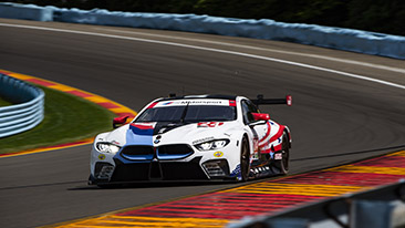 BMW Team RLL Qualifies Seventh and Eighth for Sahlen's Six Hours of The Glen; Blomqvist P7, De Phillippi P8.