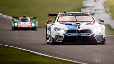 BMW Sweeps GT Class Poles at Canadian Tire Motorsport Park.