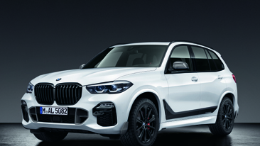Extensive range of M Performance Parts for the new BMW X5 as Original BMW Accessories.