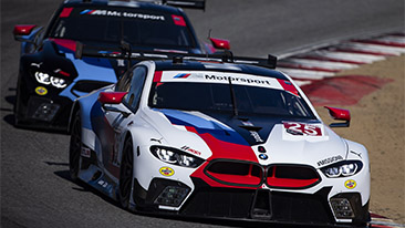 BMW Team RLL Aims For Three Victories in a Row at WeatherTech Raceway Laguna Seca; No. 24 BMW M8 GTE Back in Black.